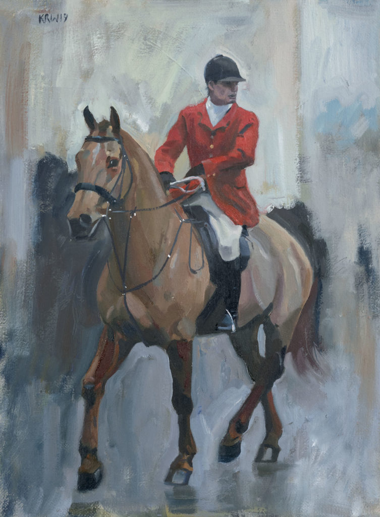 Huntsman Study painting