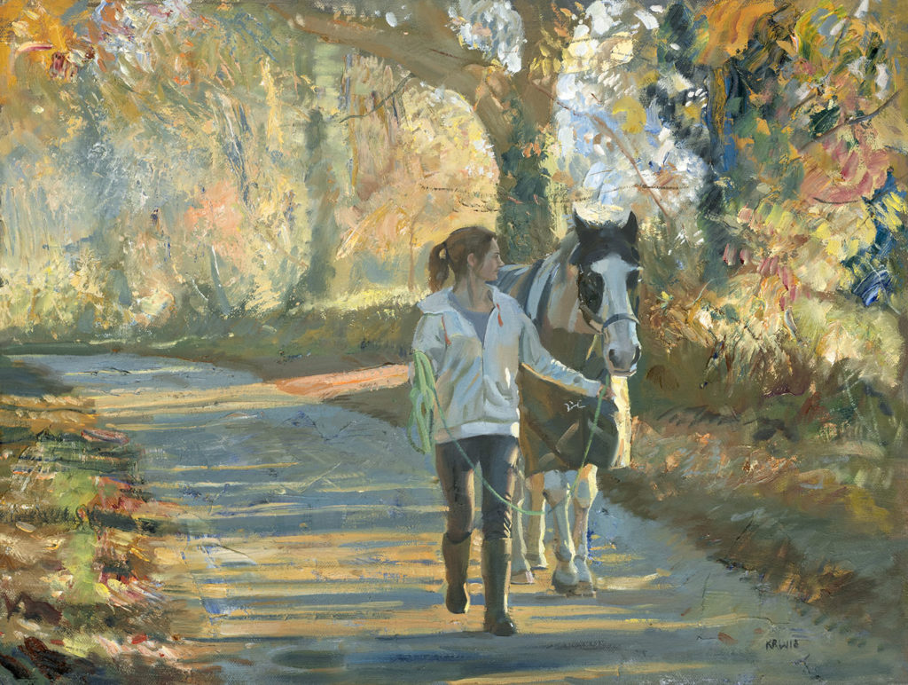 Stable Bound On An Autumn Evening