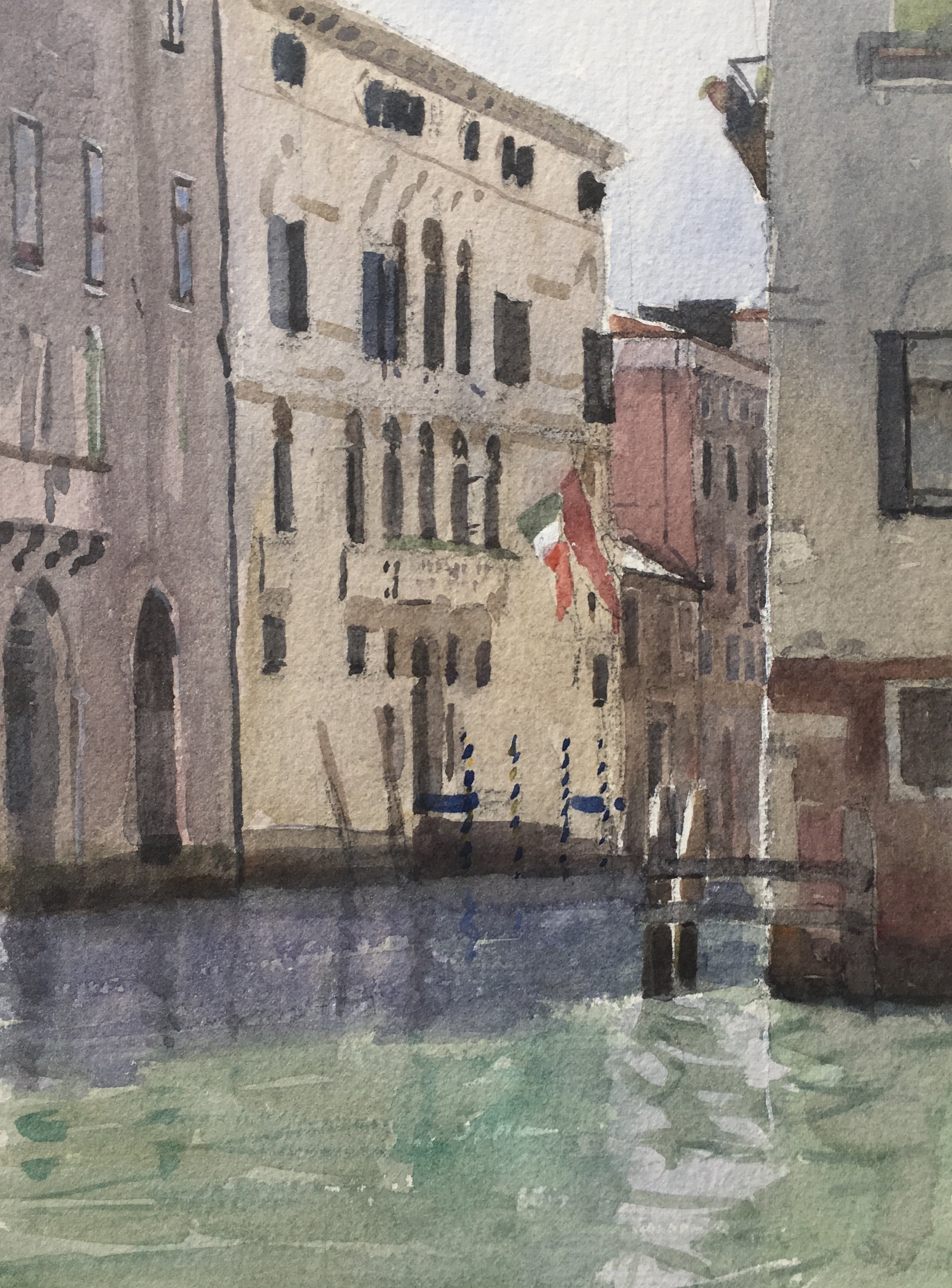 "A-Venetian-back-water-9.5x7.5""-watercolour"