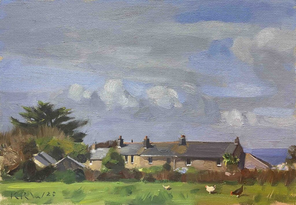 Cottage Backs, Zennor