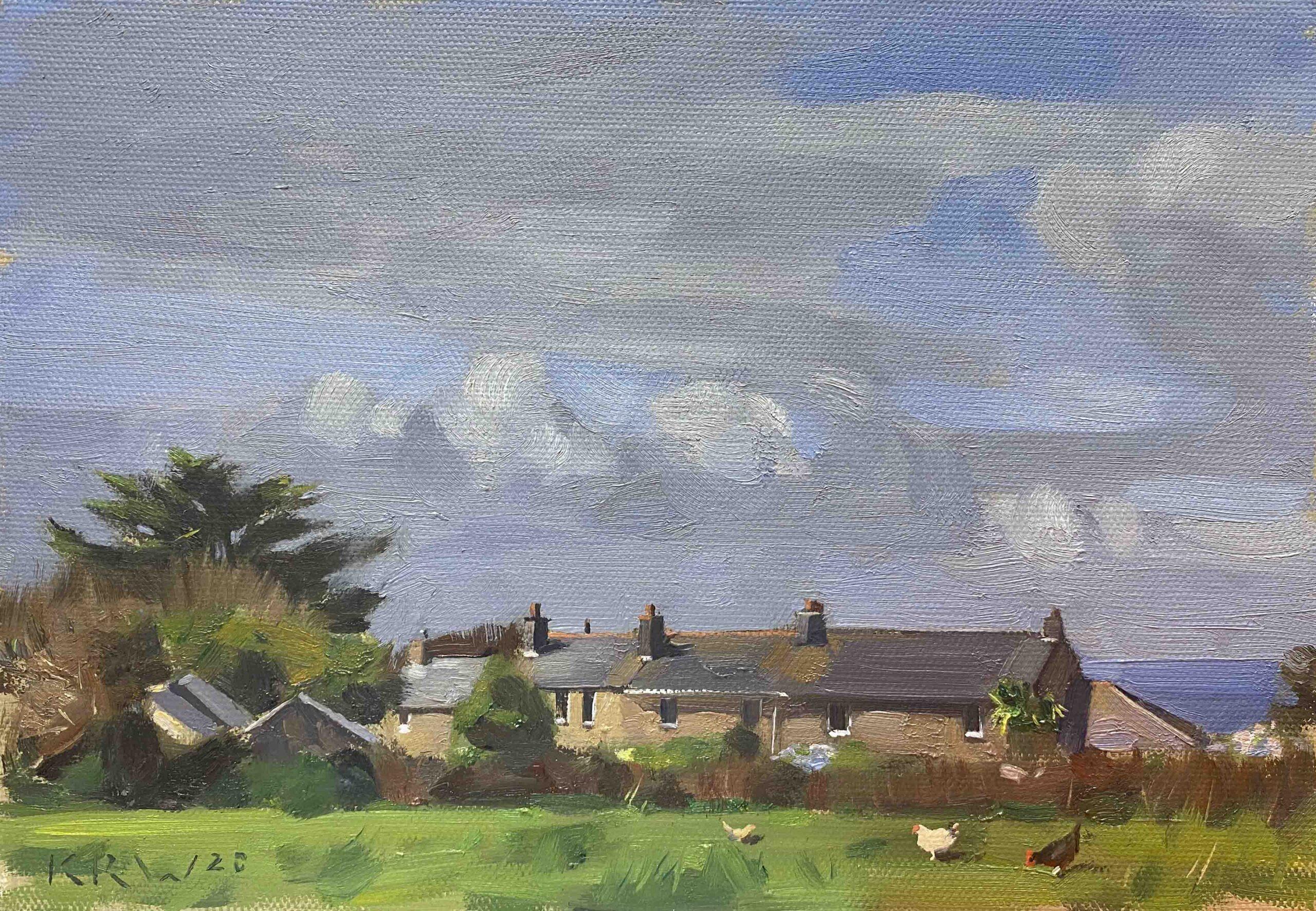 Cottage Backs, Zennor
