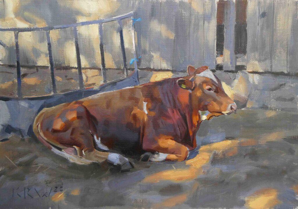 The Young Bull, Trewey Vean Farm